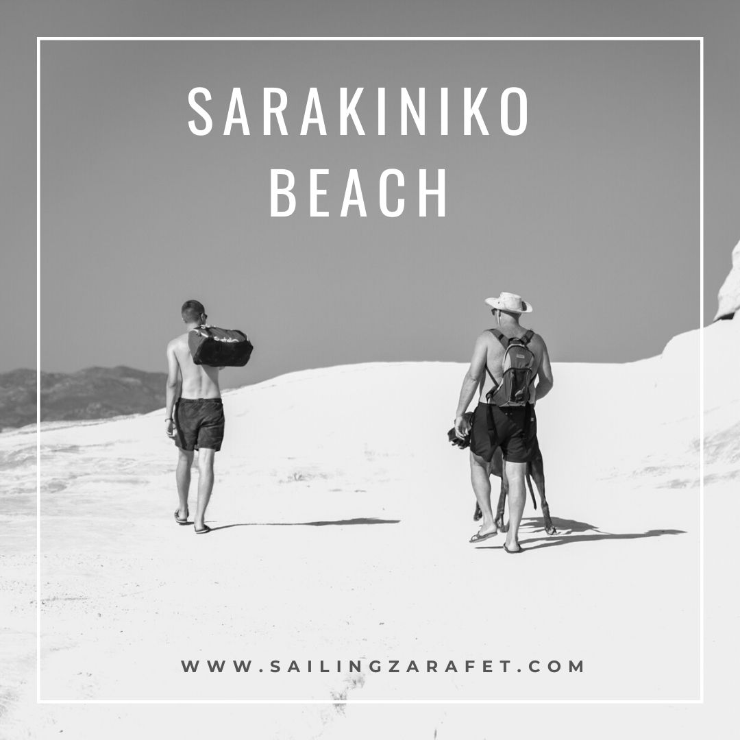 Sarakiniko beach in Milos is a unique place. It is on the list of the most beautiful beaches in the world in the 2018 ranking. You can not be on Milos and not take a bath in the turquoise water surrounded by snow-white rocks. The uniqueness of this beach is due to the beautiful, white limestone rocks that look like whipped cream or vanilla ice cream spilled on the seashore :)