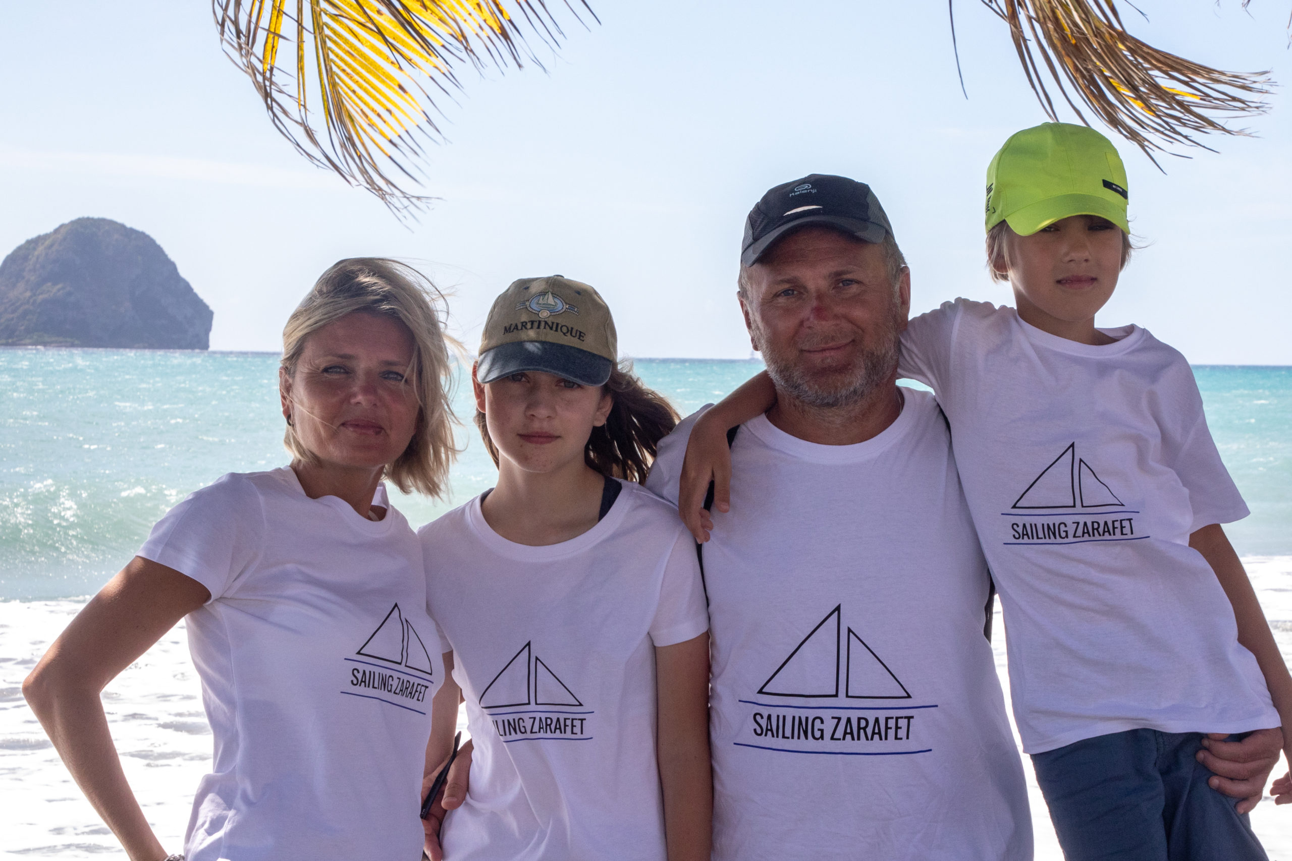 Darek, Ania, Martyna & Antoni - They have been  5 times on our boat alredy. We can call them family crew for sure. Ania is Monika's sister. They were discovering with us : Turkey, Greece, some of Canary Islands & Martinique